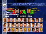 LiberoGrande PlayStation The extended player selection view with Magellan (Maradona), one of the unlockable players, selected.