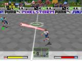 Puma Street Soccer PlayStation Supershots are recognizable by the red trail.