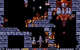 Xenon 2: Megablast DOS A dead end, now I must put my spaceship in reverse.