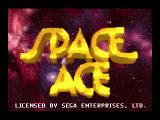 Space Ace SEGA CD Title