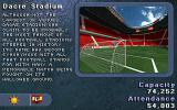 Striker '95 DOS Info Screen of one of the stadiums of the game.