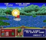 Operation Thunderbolt SNES Even stunned for the last attack received, Shin was capable to destroy an enemy boat!