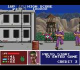 Operation Thunderbolt SNES Now, the action goes to Erica Whitney, and she starts the non-stop action beating a silly rebel!