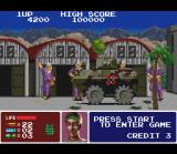 Operation Thunderbolt SNES The next target for Erica: a single barricade formed by some rebels and a reinforced tank.