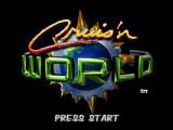 Cruis'n World Nintendo 64 Title screen.
