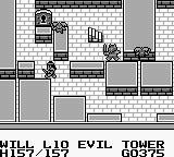 Knight Quest Game Boy In a dungeon