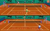 Tennis Cup 2 Atari ST Split-screen mode