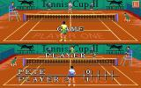 Tennis Cup 2 Atari ST The current score