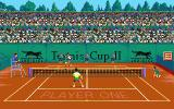 Tennis Cup 2 Atari ST On clay