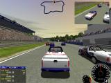 Ford Racing Windows Racing with TV broadcasting (at the upper right corner)