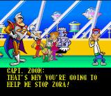 The Jetsons: Invasion of the Planet Pirates SNES Intro: Zoom enlists Jetson to help him defeat Zora