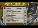 Wings Amiga The top ten pilots of June 1917