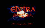 Elvira DOS Title Screen 2