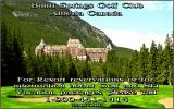 Links: Championship Course - Banff Springs DOS splash screen - Links 386 SVGA