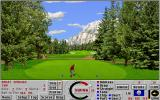 Links: Championship Course - Banff Springs DOS hole 2 - Links 386 SVGA