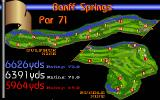 Links: Championship Course - Banff Springs DOS course map - Links MCGA/VGA