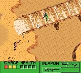 Army Men Game Boy Color Firefight on the bridge