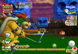 Mario Golf: Toadstool Tour GameCube Bowser needs to avoid hitting the Thwomps on this shot