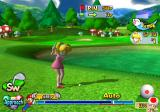 Mario Golf: Toadstool Tour GameCube Practicing a shot over the water...