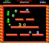 Bubble Bobble also featuring Rainbow Islands DOS Bubble Bobble: Easy going in the first few levels.