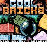 Cool Bricks Game Boy Color Title Screen