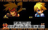 Guilty Gear Petit 2 WonderSwan Color Choosing your character