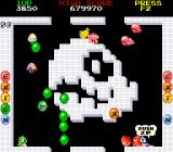 Bubble Bobble also featuring Rainbow Islands DOS Bubble Bobble: Monsters turn red and speed up if you take too long.