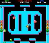 Bubble Bobble also featuring Rainbow Islands DOS Bubble Bobble: Activate lightning bubbles to shoot hard-to-reach foes.