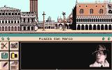 Murders in Venice Atari ST The detective prepares to trawl the streets