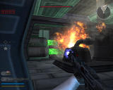 Star Wars: Battlefront II Windows Destroy the cooling tanks to disable the ship's engines.