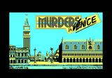 Murders in Venice Amstrad CPC Loading screen