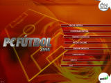 PC Fútbol 2006 Windows Main menu