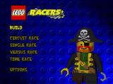 LEGO Racers Nintendo 64 Main menu.