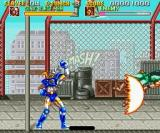 Sonic Blast Man SNES Wave Uppercut