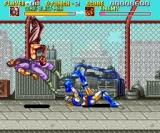 Sonic Blast Man SNES Suplex Throw
