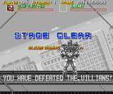 Sonic Blast Man SNES Level Clear