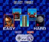 Sonic Blast Man SNES Bonus Stage Select