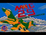 Mig-29 Soviet Fighter Amiga Title screen