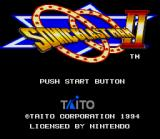 Sonic Blast Man II SNES Title Screen