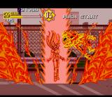 Sonic Blast Man II SNES Super Attack - Flame Engulf