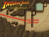 Indiana Jones and the Infernal Machine Windows The game has quite a few scenarios/chapters, and each has a map with a position (this one, for example is a bit more specific).