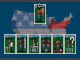 World Cup USA 94 SEGA CD Main menu