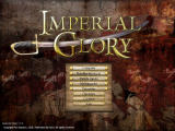 Imperial Glory Windows Main menu