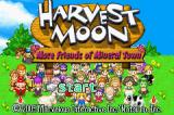 Harvest Moon: More Friends of Mineral Town Game Boy Advance Title Screen