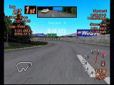 Gran Turismo 2 PlayStation Nothing but open road. Unlike many racing games, the first person view is just as useful as the third person. In fact, you get more sensation from the dips and banks in the roads in this mode.