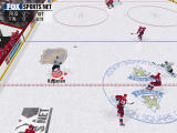 NHL Championship 2000 Windows Passing indicators allow to see where the pack can be passed
