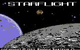 Starflight Commodore 64 Title screen