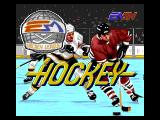 NHL Hockey Genesis Title screen