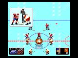 NHL Hockey Genesis Opening face-off