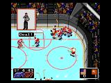 NHL Hockey Genesis Celebrating a goal
